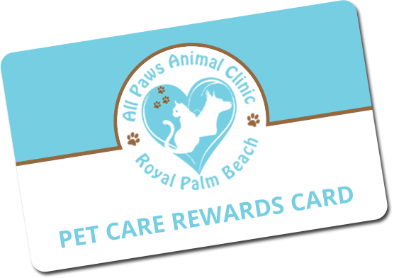 Pet Care Rewards Card